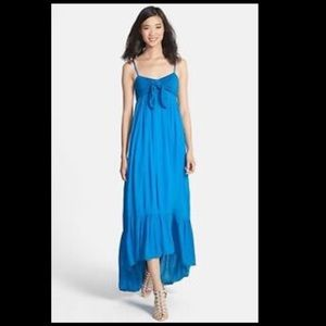 Free People Totally Tubular Smoked Dress
